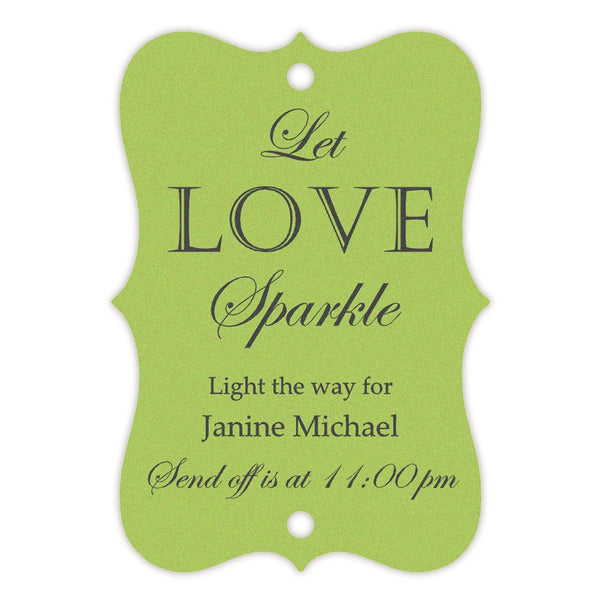 Sparkler tags - Green - Dazzling Daisies