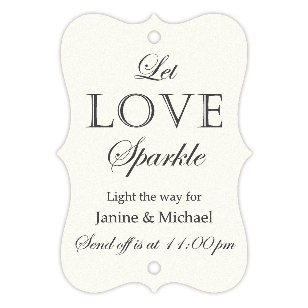 Sparkler tags - Red - Dazzling Daisies