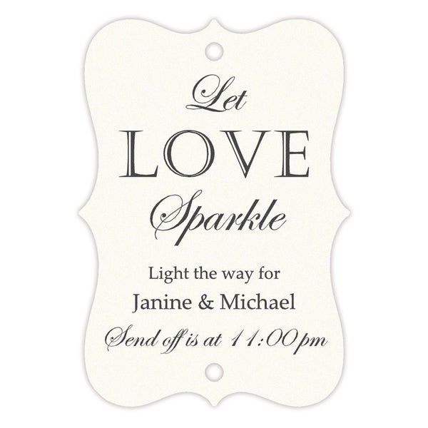 Sparkler tags - Ivory - Dazzling Daisies