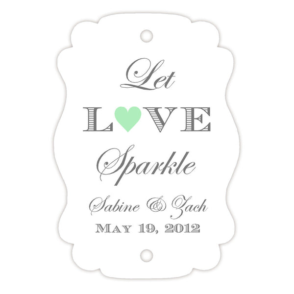 Sparkler tags - Mint - Dazzling Daisies