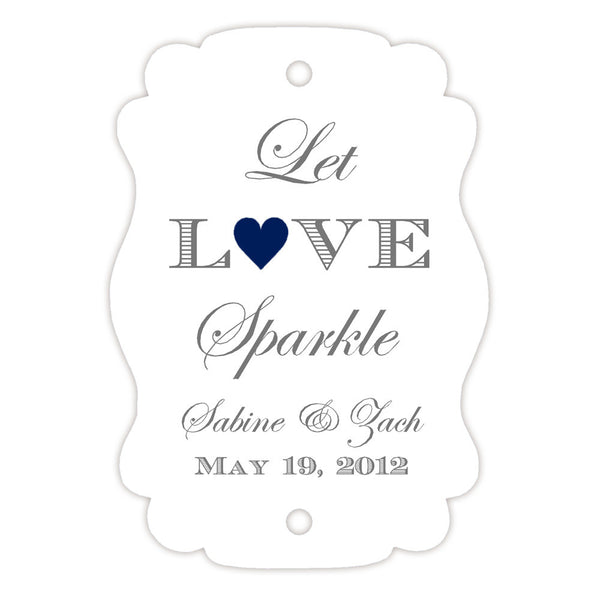 Sparkler tags - Navy - Dazzling Daisies