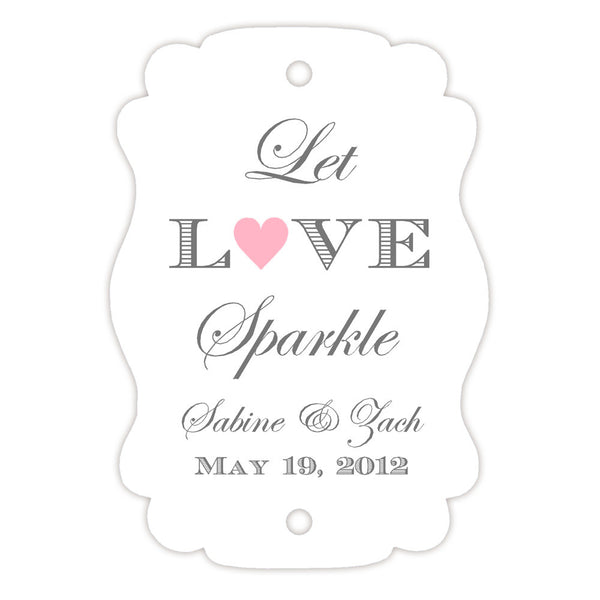 Sparkler tags - Pink - Dazzling Daisies