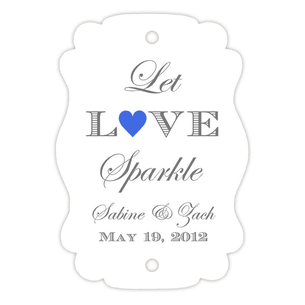 Sparkler tags - Royal blue - Dazzling Daisies