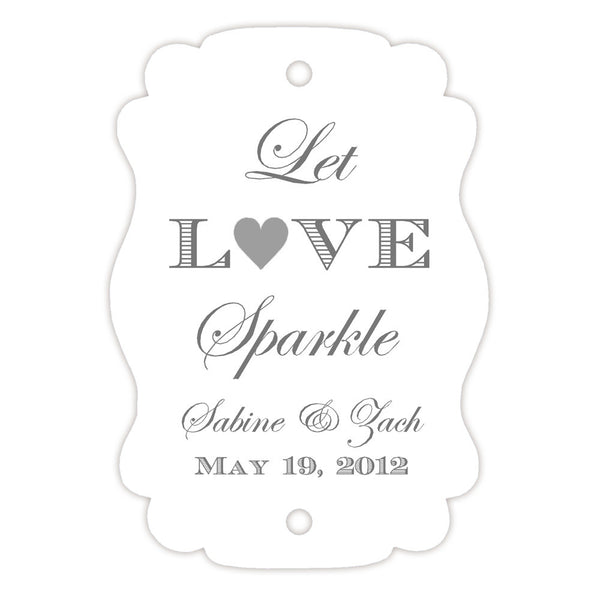 Sparkler tags - Silver - Dazzling Daisies