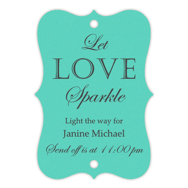 Sparkler tags - Tiffany - Dazzling Daisies