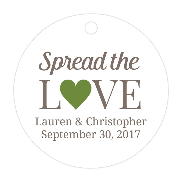 Spread the love tags - Olive - Dazzling Daisies