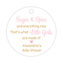 Sugar and spice tags - Gold/Pink - Dazzling Daisies
