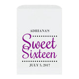 Sweet sixteen candy bags 'Ultimate Elegance' - Purple - Dazzling Daisies