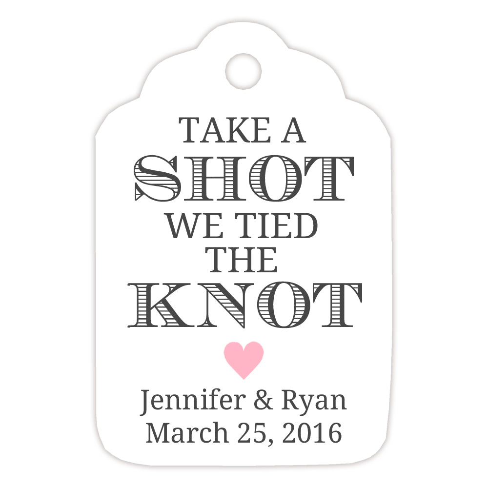 Wedding tags - Wedding favor tags | Dazzling Daisies