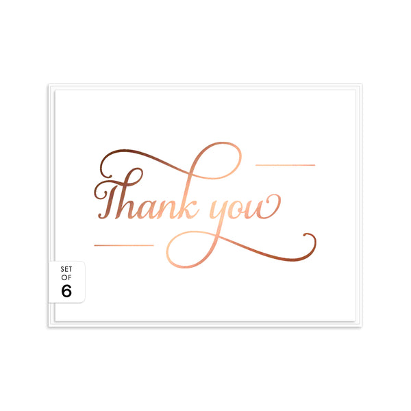 Thank you cards 'Absolute Elegance' -  - Dazzling Daisies