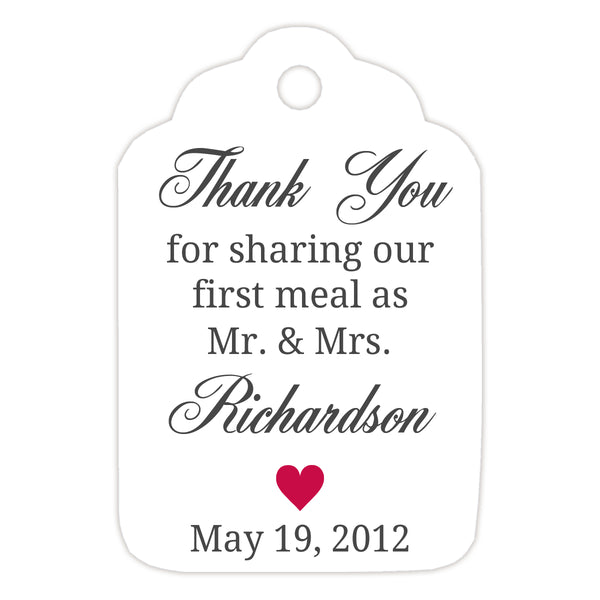 Thank you for sharing our first meal tags - Raspberry - Dazzling Daisies