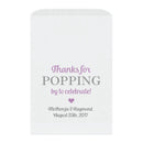 Thanks for popping by bags - Plum - Dazzling Daisies