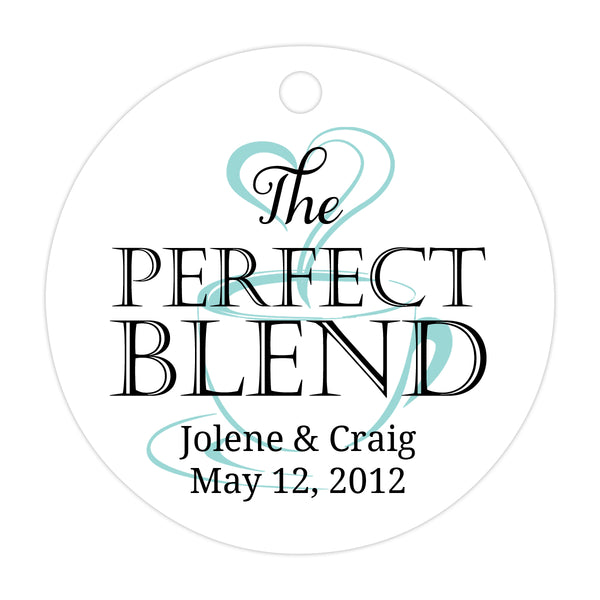 The perfect blend tags - Black/Aquamarine - Dazzling Daisies