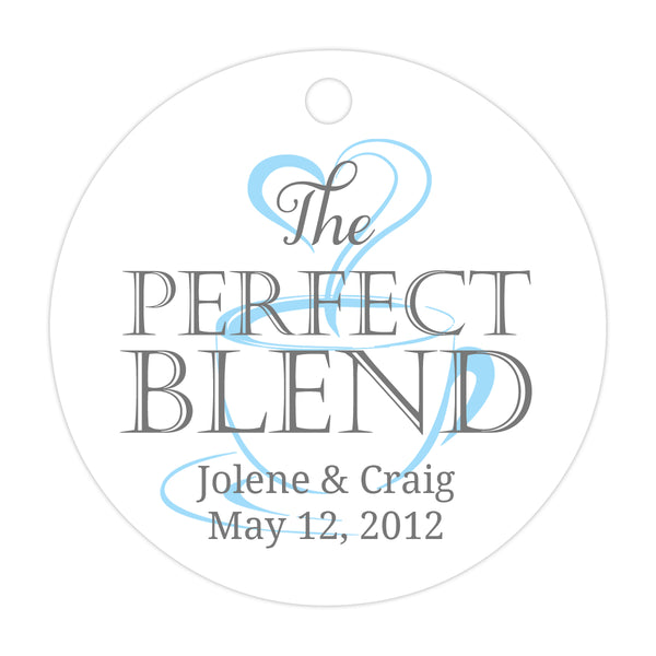 The perfect blend tags - Gray/Baby blue - Dazzling Daisies