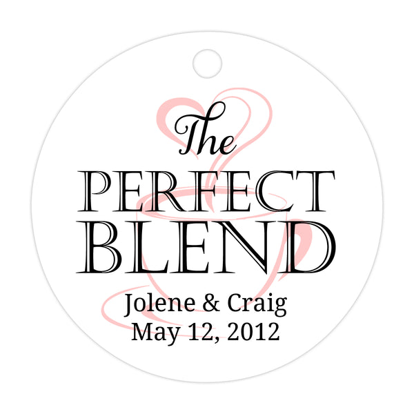 The perfect blend tags - Black/Blush - Dazzling Daisies