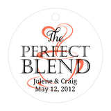 The perfect blend tags - Black/Coral - Dazzling Daisies