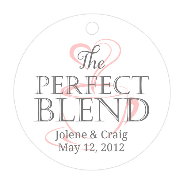 The perfect blend tags - Gray/Blush - Dazzling Daisies