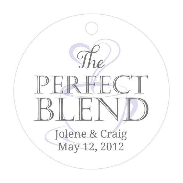 The perfect blend tags - Gray/Lavender - Dazzling Daisies