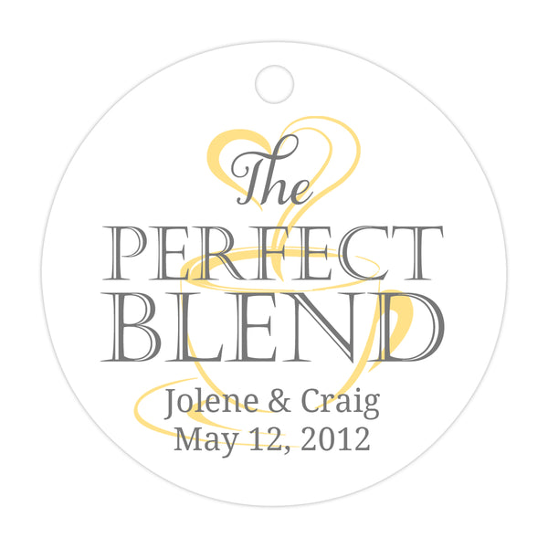 The perfect blend tags - Gray/Sunrise - Dazzling Daisies