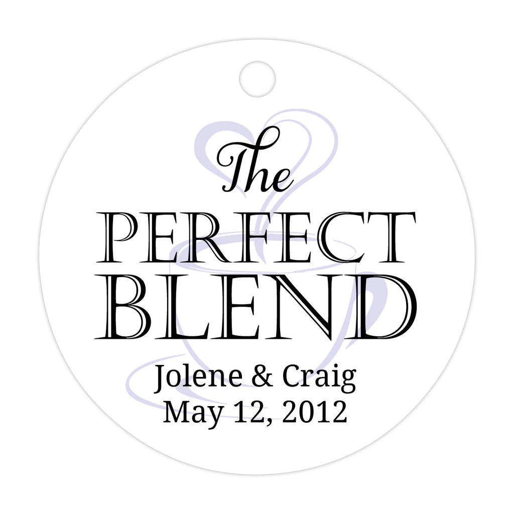 The perfect blend tags - Gray/Aquamarine - Dazzling Daisies