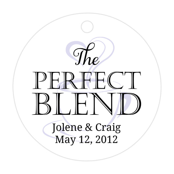 The perfect blend tags - Black/Lavender - Dazzling Daisies