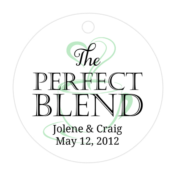The perfect blend tags - Black/Mint - Dazzling Daisies