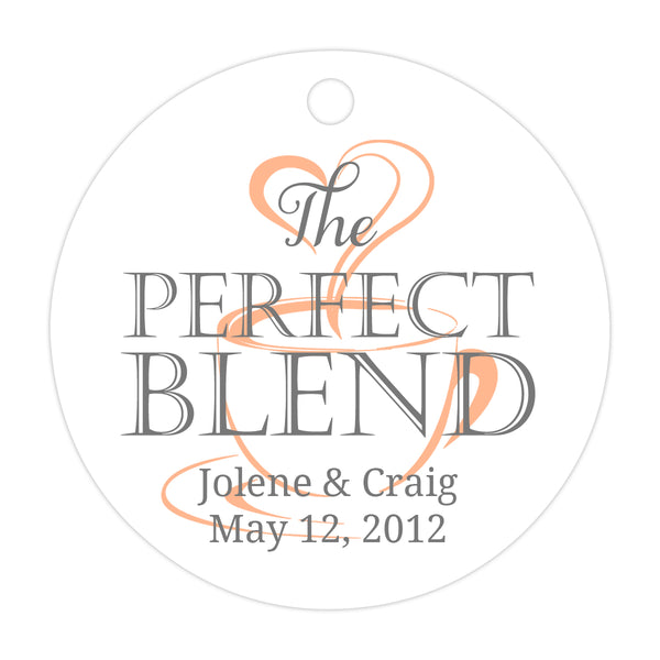 The perfect blend tags - Gray/Peach - Dazzling Daisies