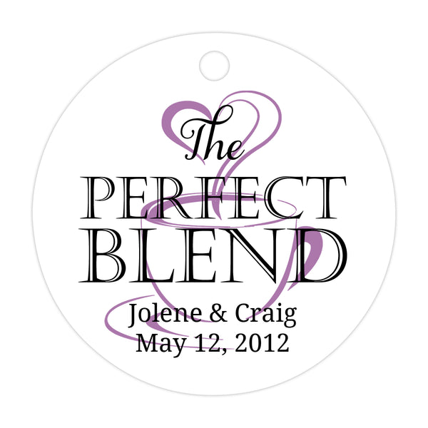 The perfect blend tags - Black/Plum - Dazzling Daisies