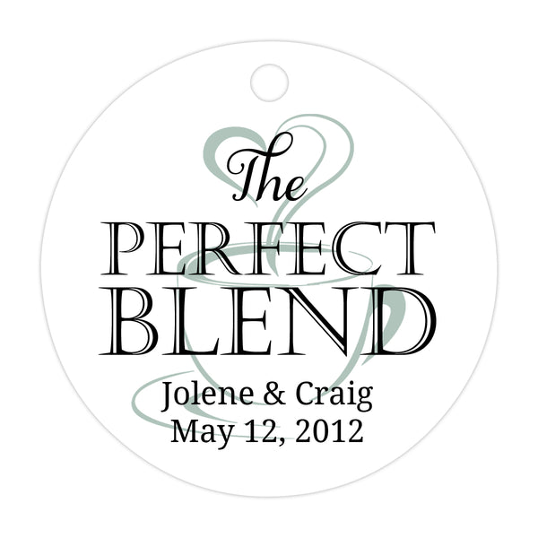 The perfect blend tags - Black/Sage - Dazzling Daisies