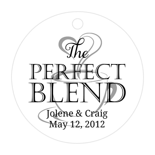 The perfect blend tags - Black/Silver - Dazzling Daisies