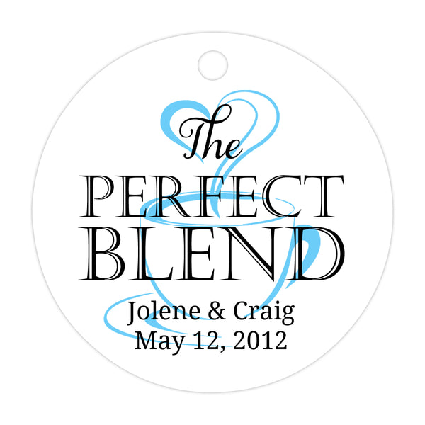 The perfect blend tags - Black/Sky blue - Dazzling Daisies