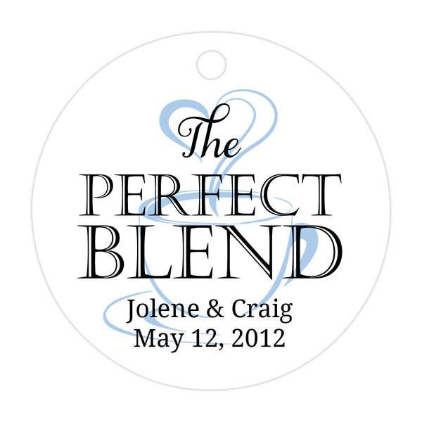 The perfect blend tags - Black/Steel blue - Dazzling Daisies