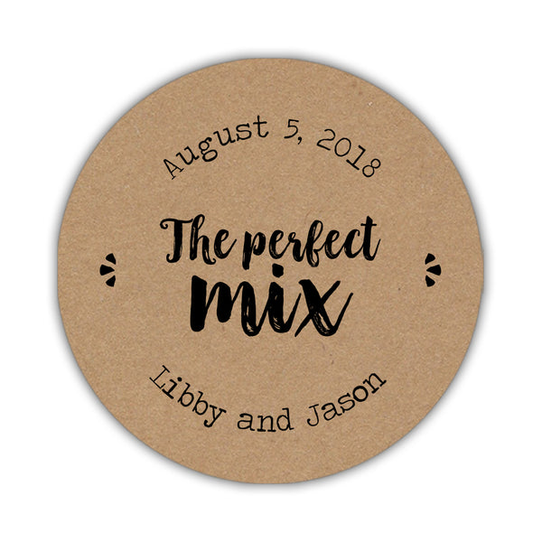 The perfect mix stickers 'Rustic Brush' -  - Dazzling Daisies