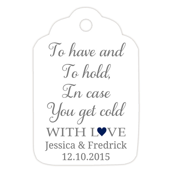 To have and to hold tags - Navy - Dazzling Daisies