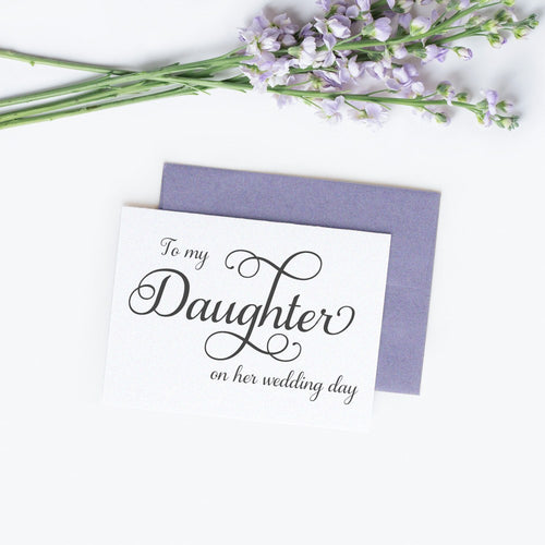 To my Daughter card elegant -  - Dazzling Daisies