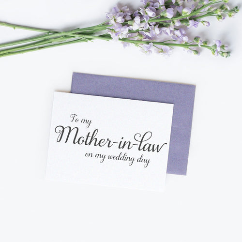 To my Mother in law card elegant -  - Dazzling Daisies