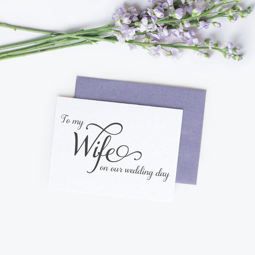 To my wife card 'Excellent Elegance' -  - Dazzling Daisies