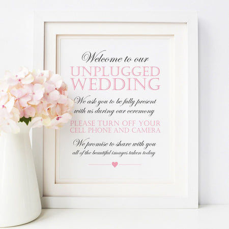 Guest book sign 'Elevated Elegance'