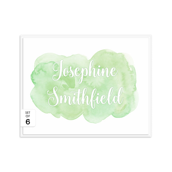 Watercolor note cards 'Bold Splash' -  - Dazzling Daisies