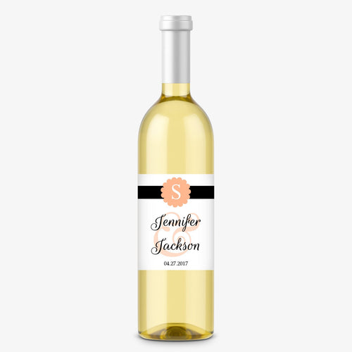 Wine bottle labels 'Cigar Band' -  - Dazzling Daisies