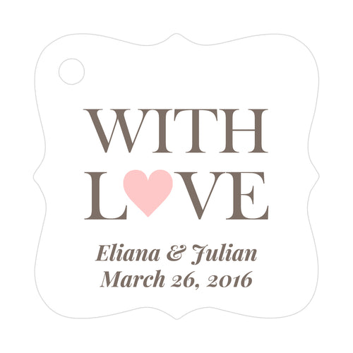 With love tags - Blush - Dazzling Daisies