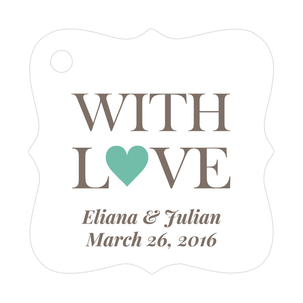 With love tags - Ocean - Dazzling Daisies