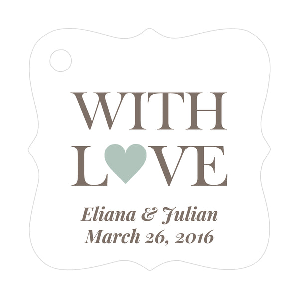 With love tags - Sage - Dazzling Daisies