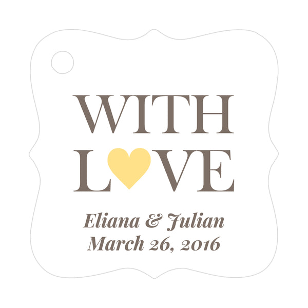 With love tags - Sunrise - Dazzling Daisies