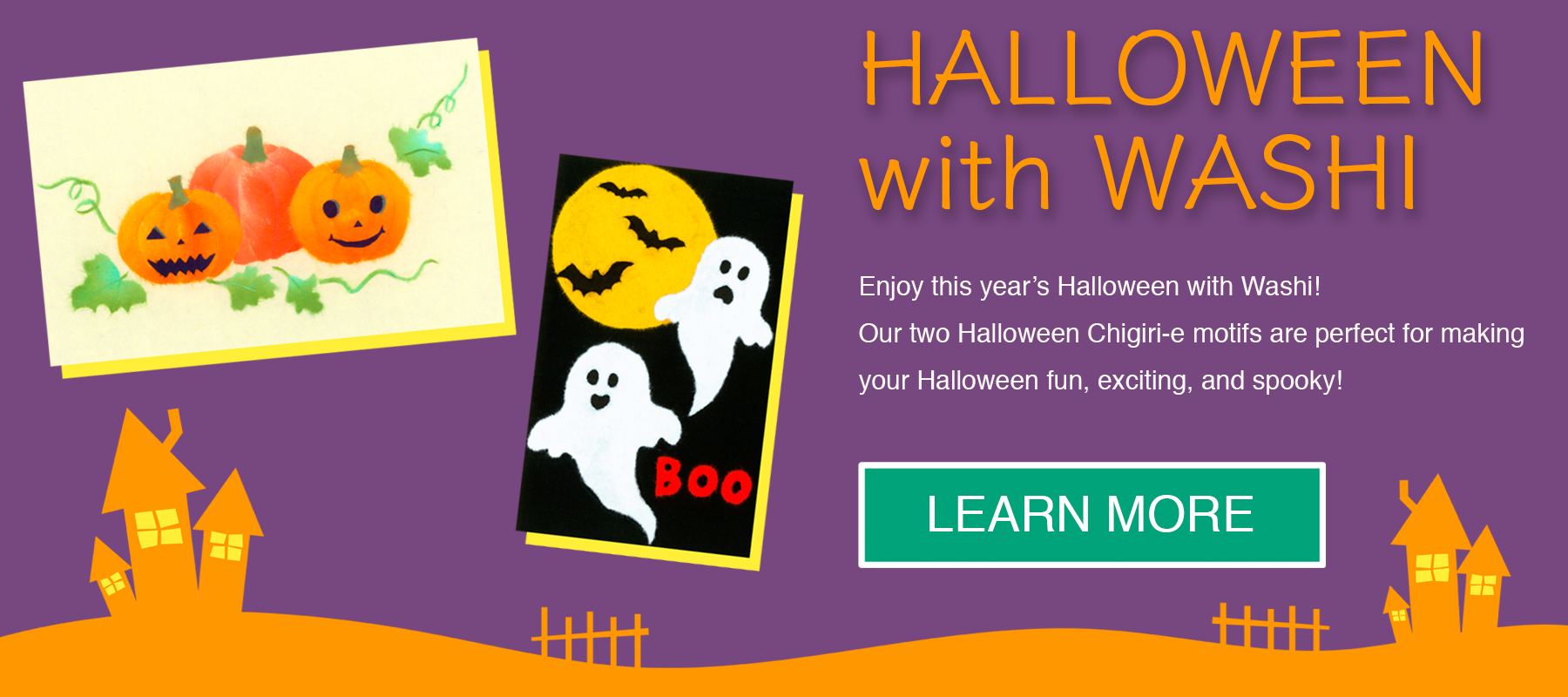 Halloween with Washi - Enjoy this year's Halloween with Washi!