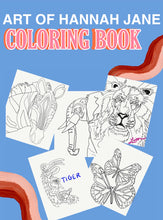 Load image into Gallery viewer, Animal Kingdom Coloring book