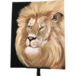 Realistic Lion Art