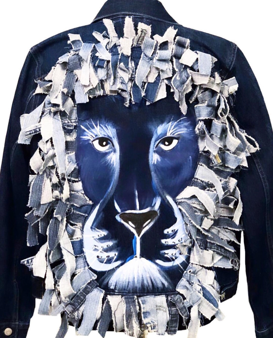 Navy Lion Jacket