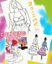 Load image into Gallery viewer, Fashion Coloring Book