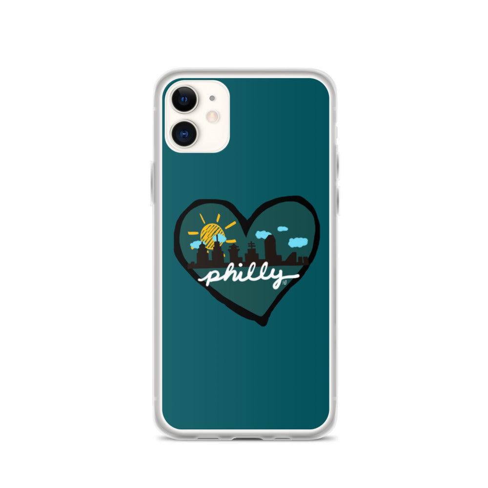 Sunshine in Philly iPhone Case